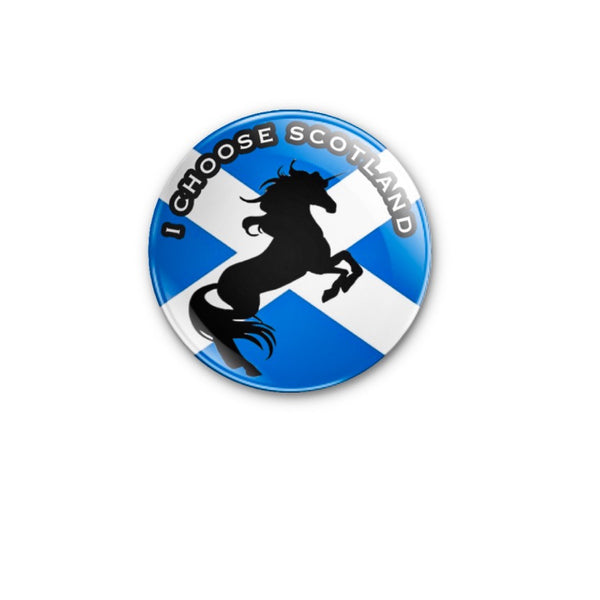 I Choose Scotland 59mm size