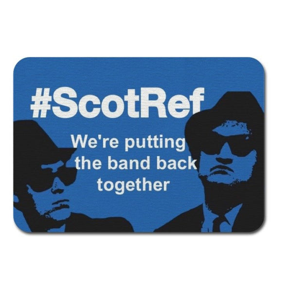 Fabric Mouse Mat - #ScotRef - We're Putting the Band Back Together