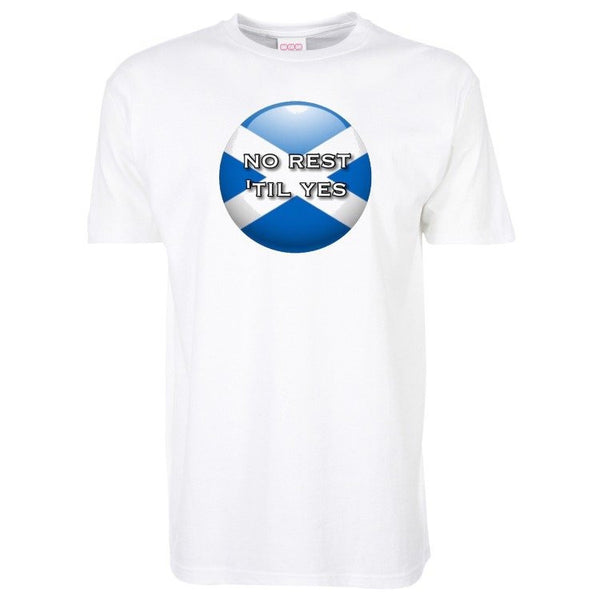 Short Sleeve T Shirt - No Rest Til Yes