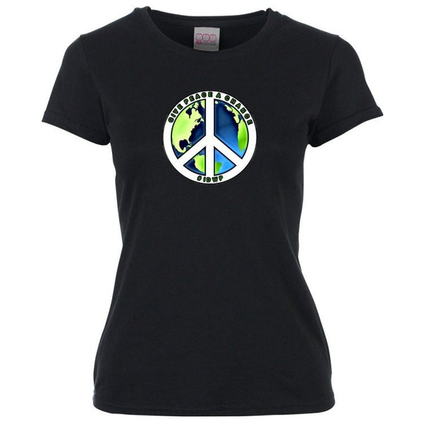 Women's short Sleeve T Shirt - Indyref2 - I declare world peace