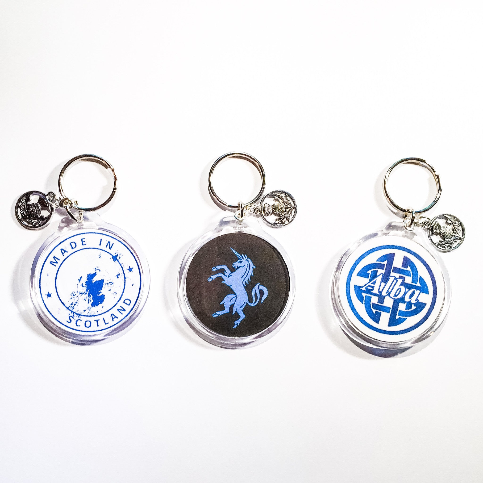 Scotland Design Keychains