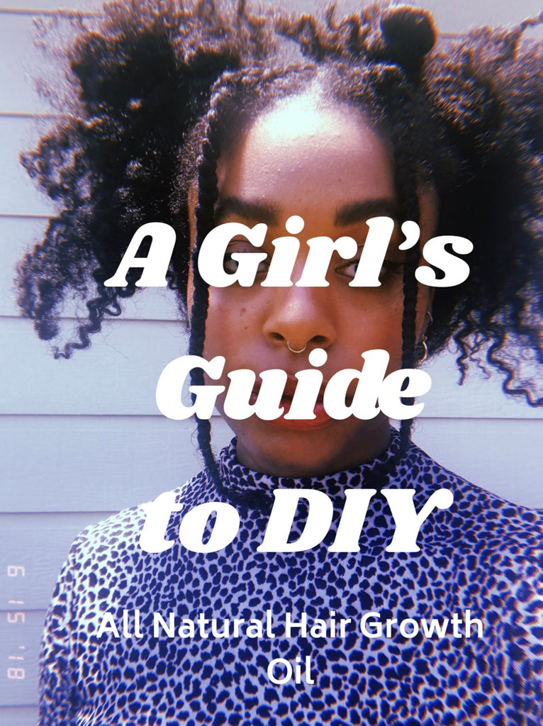 Super Easy Diy Hair Growth Oil A Girl S Guide To Diy