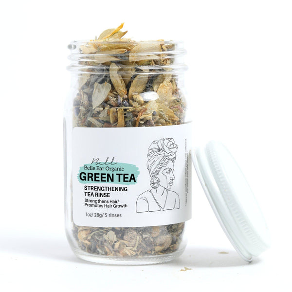 Green Tea Length Strengthening Tea Rinse