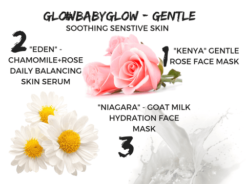 #GLOWBABYGLOW GENTLE- SOOTHING SENSITIVE SKIN