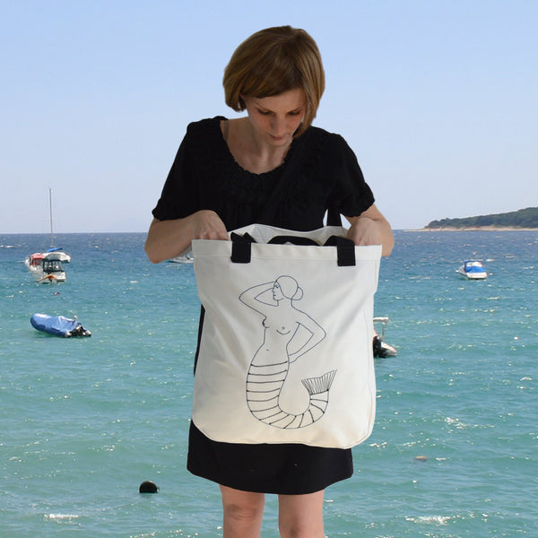 Tote bags - Mermaid
