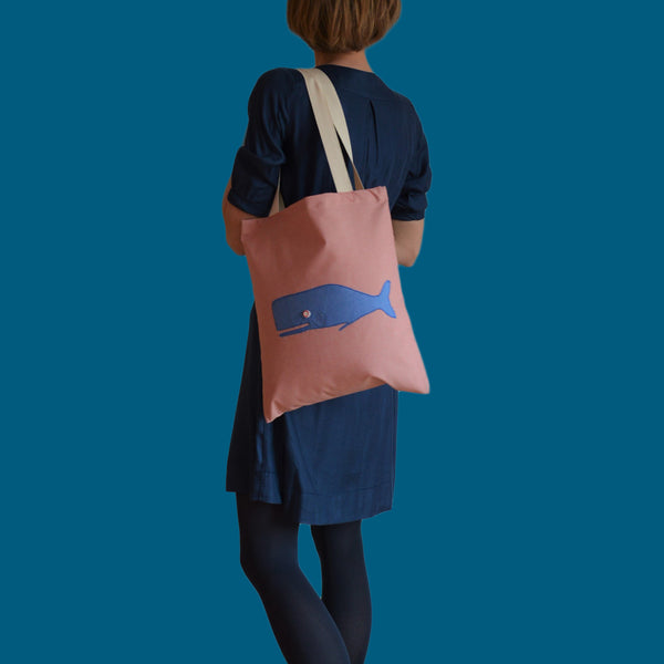Tote bags - Blue whale