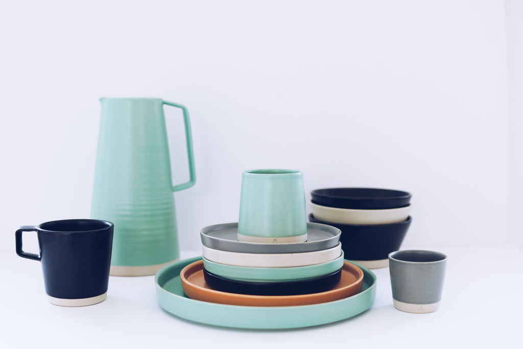 Cityscape dublin new colour collection Arran Street East handmade Irish pottery
