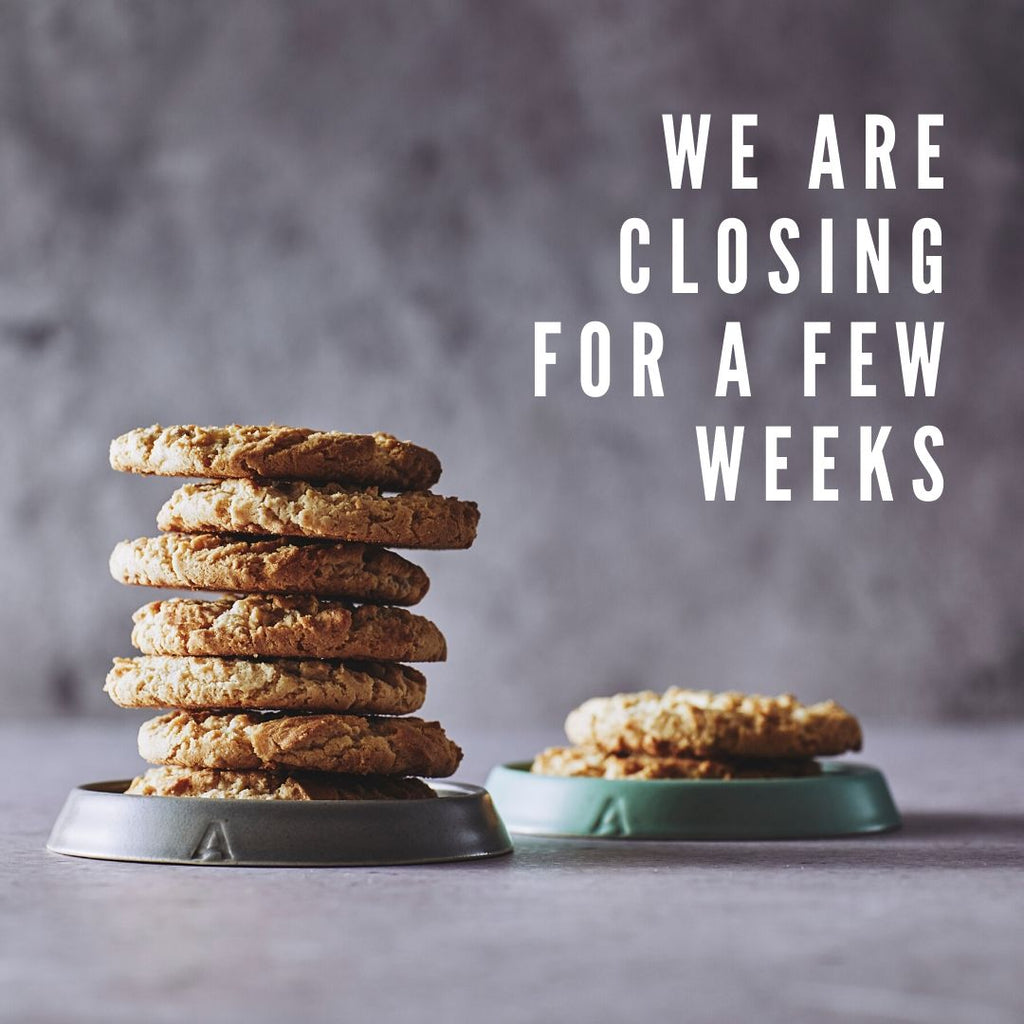 We are closing for a few weeks