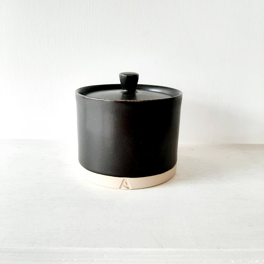 Small Jar with Lid