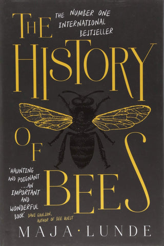 Book cover of 'The History of Bees' - Maja Lunde
