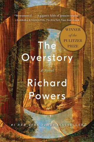 Book cover for 'The Overstory' - Richard Powers