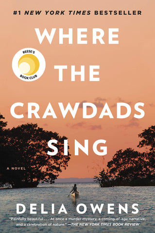 """Book cover of """"Where the Crawdads Sing"""" by Delia Owens"""