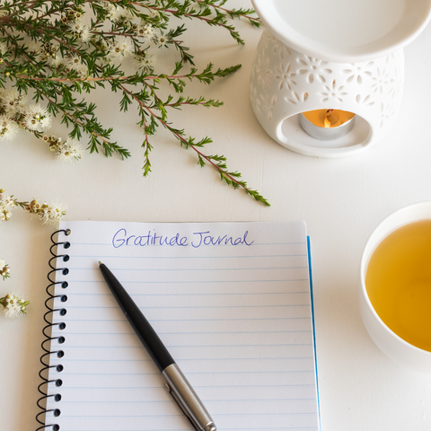 A photo of a gratitude journal courtesy of Canva.