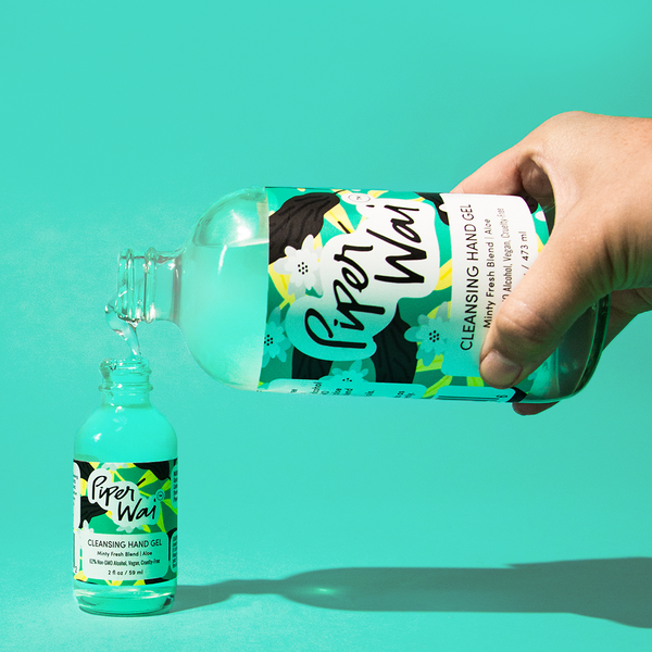 Cleansing Hand Gel Minty Fresh