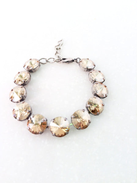 Golden Shadow Crystal Bracelet