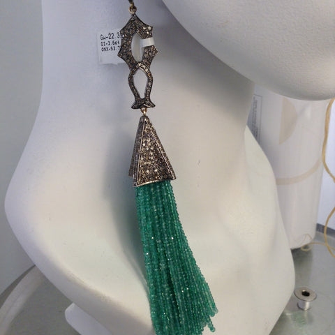 Green Onyx Pendent