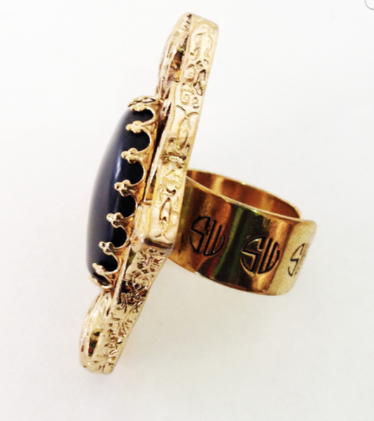 Black Exotic Ring