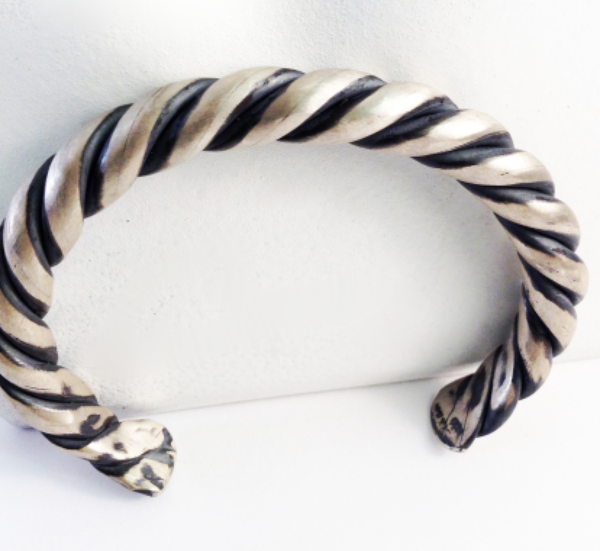 Sterling Braid Bracelet