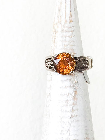 Bronze topaz ring
