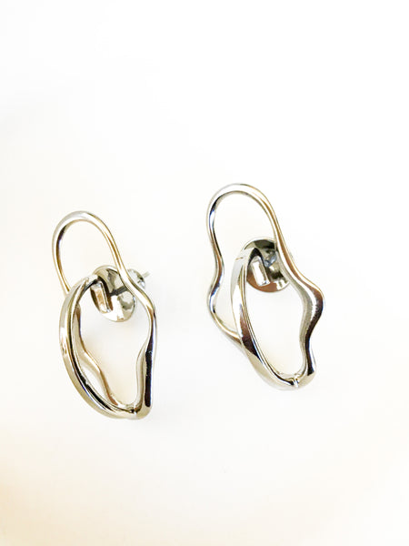 Organic Shape Earrings