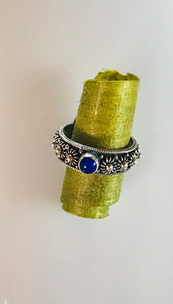 Lapis blue ring
