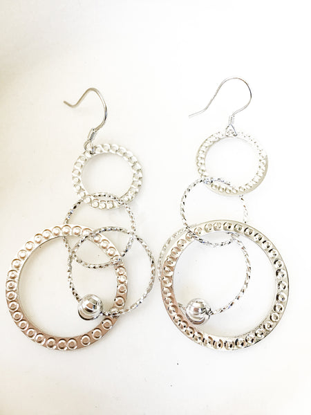 Circle Sterling Earrings