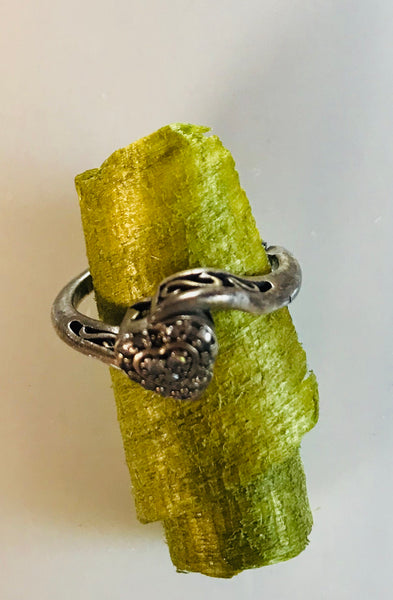 Sterling heart ring