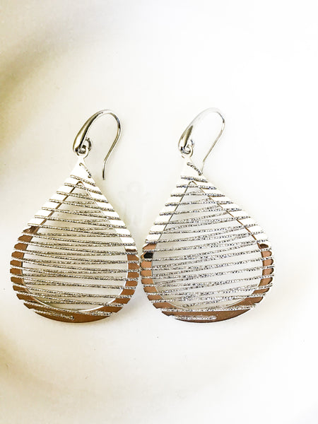 Teardrop Sterling Earrings