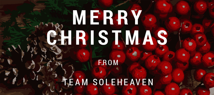 Merry Christmas from Team Soleheaven