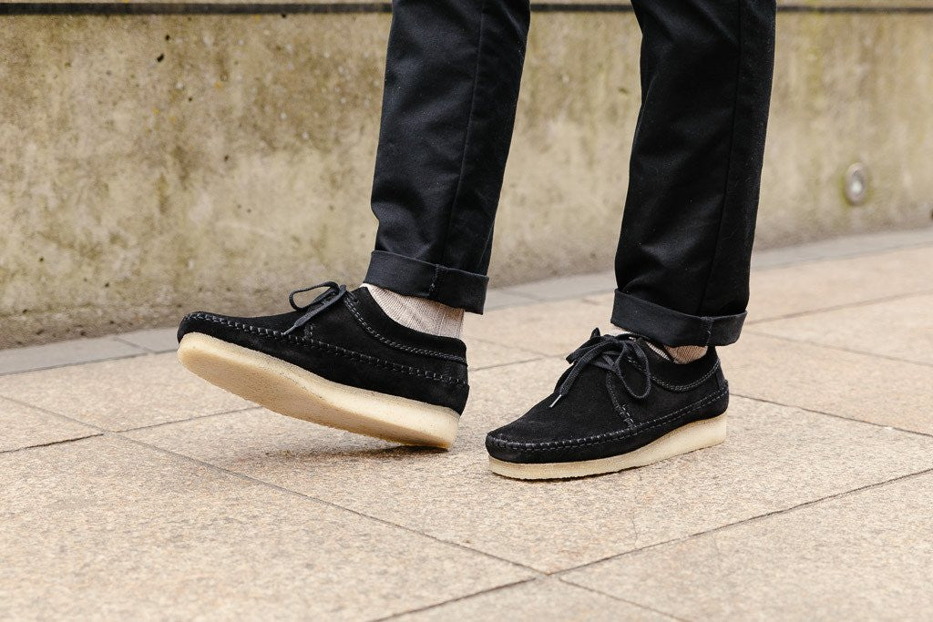 Clarks Originals Weaver in Black / Gum 261174487 available on Sale at Soleheaven