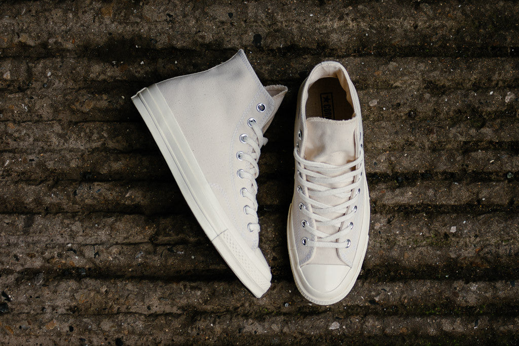 Converse Chuck Taylor '70s Hi 151227C in Natural / Clematis Blue available to buy now at Soleheaven