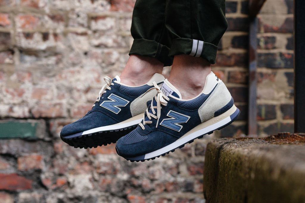 Navy 'Made in England 575 available NOW