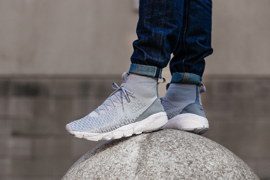 Nike Air Footscape Magista Flyknit 816560-005 in Wolf Grey / Cool Grey available to Buy now at Soleheaven