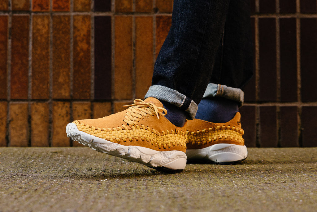 Nike Air Footscape Woven NM 875797-700 in Desert Ochre / Desert Ochre / Gold Dart available to Buy now at Soleheaven