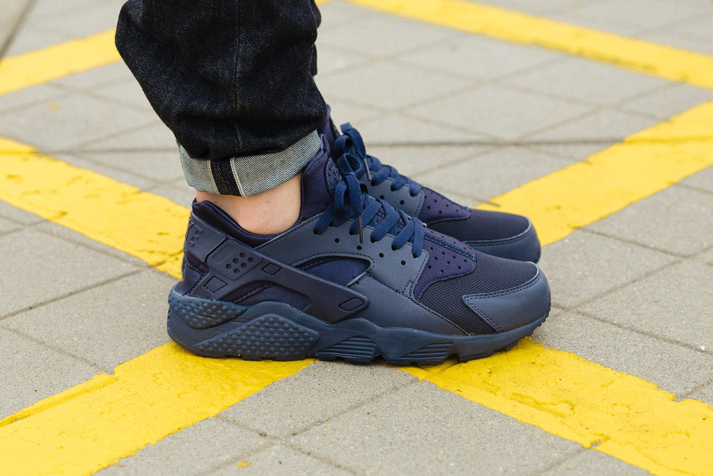 Nike Air Huarache Navy available with Soleheaven