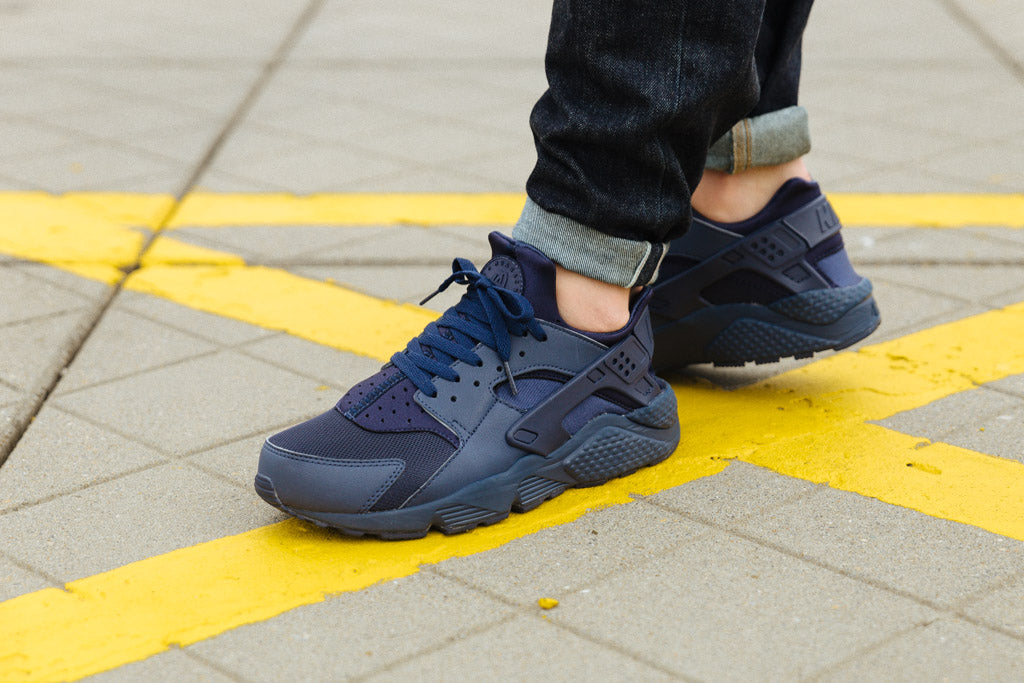 Midnight Navy Huarache available from Soleheaven