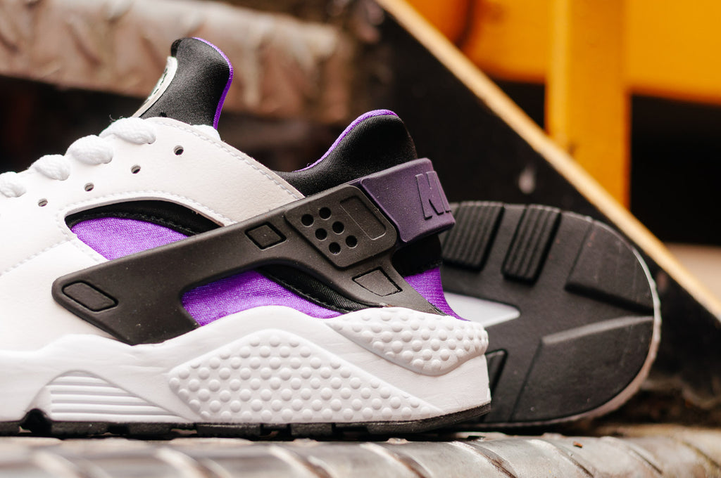 Nike Air Huarache 'Hyper Grape' available now from Soleheaven.