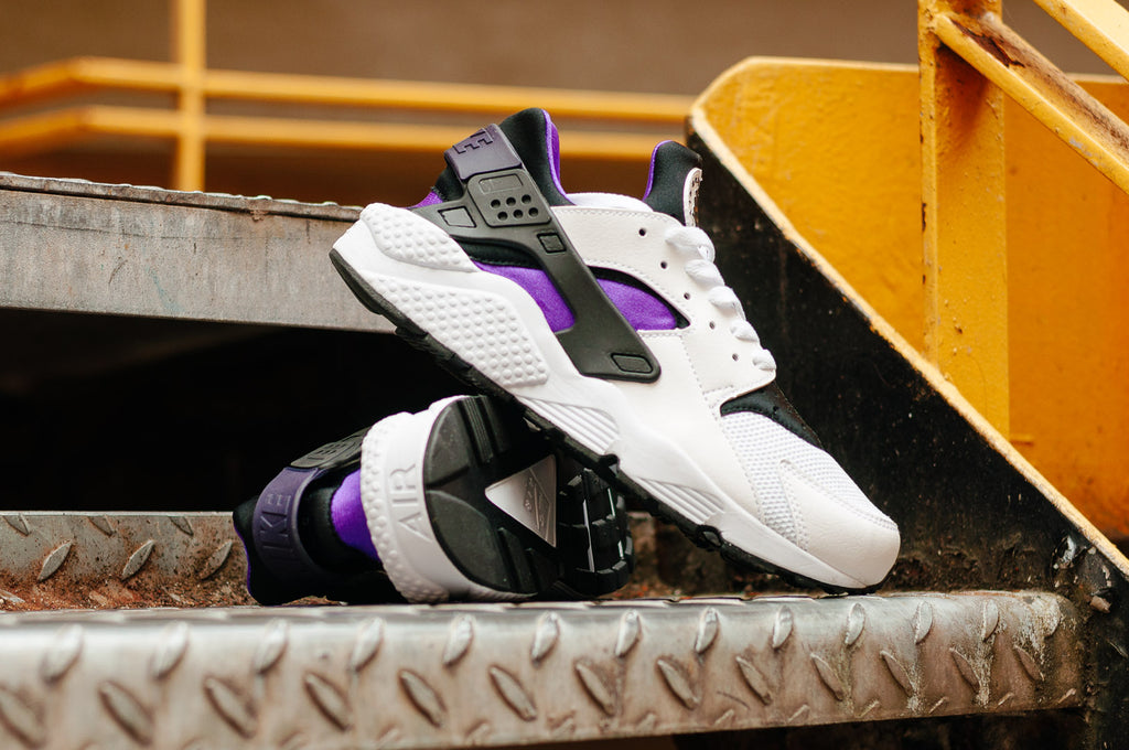 Nike Air Huarache 'Hyper Grape' available NOW from Soleheaven
