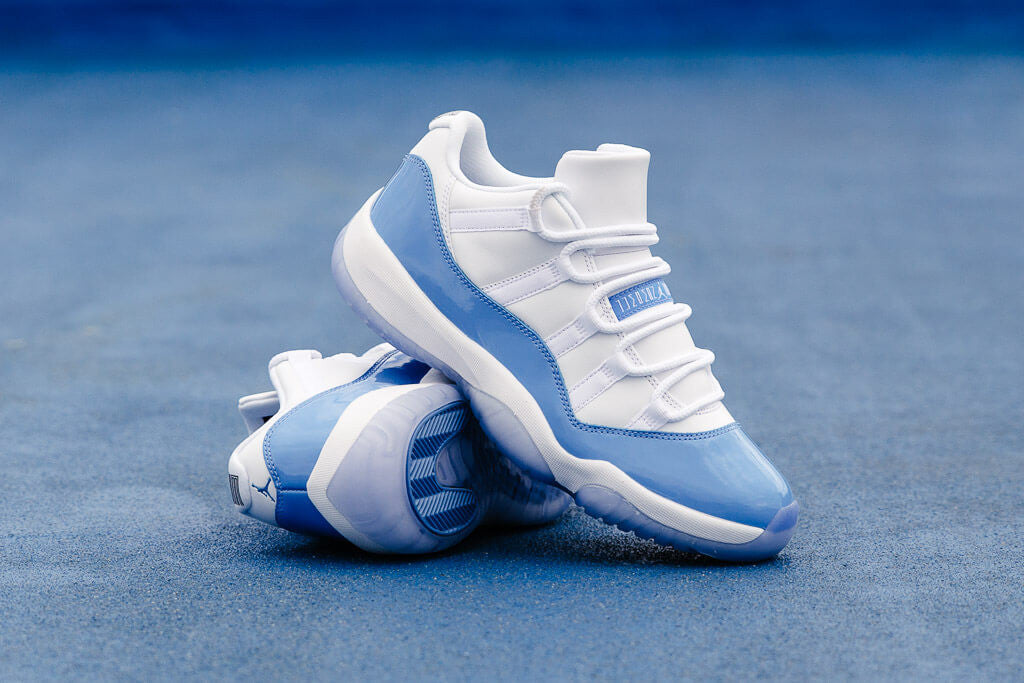03900e52d3d These Jordan 11 Low's pay homage to when Jordan used to play for the  University of North Carolina in 1981-1984 when he was younger studying his  Major in ...