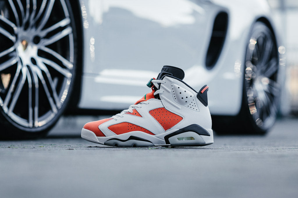 8cc9741db1b9 ... Summit White   Team Orange   Black. Air Jordan 6 Retro  Gatorade   available to buy at Soleheaven ...