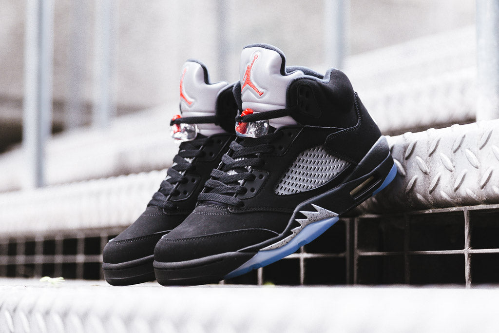 Nike Air Jordan V 'Metallic' releases 23/07/16 with Soleheaven