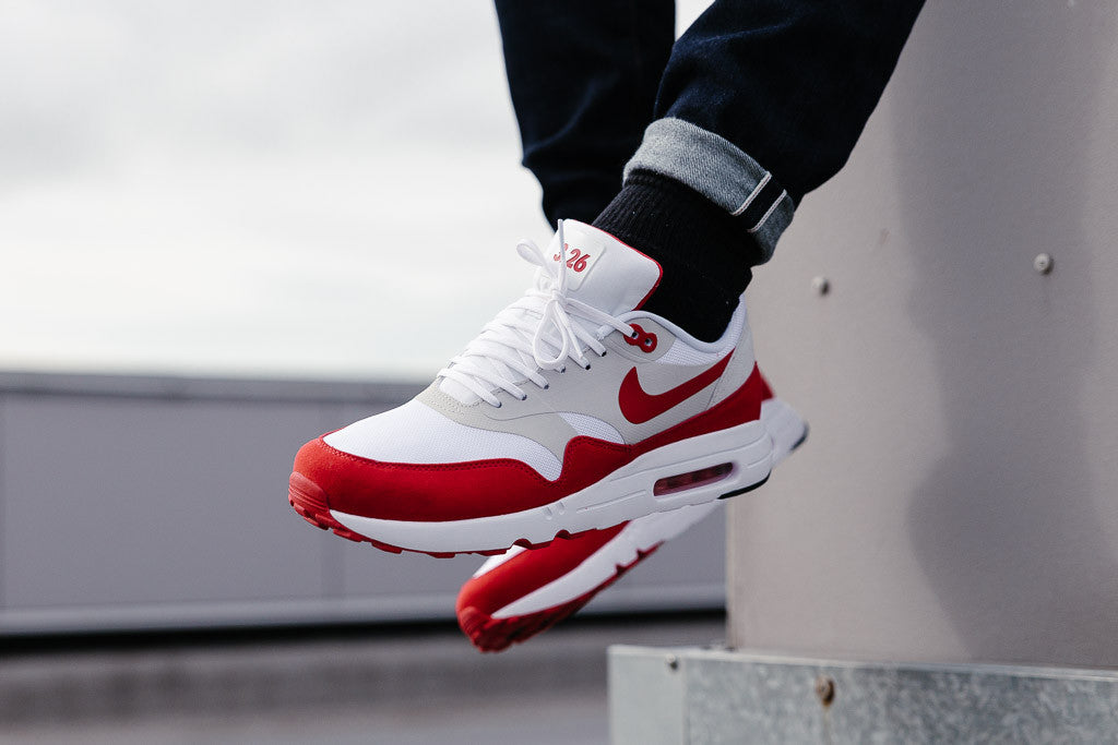 633c5 c0901 nike air max 1 Rouge Blanc closer at