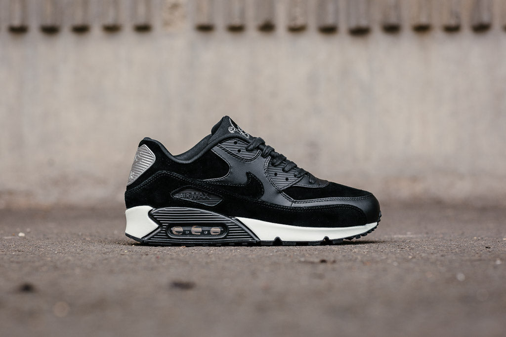 cecef3bbf1 ... black on feet video at exclucity youtube nike air max 90 premium rebel  skull available to