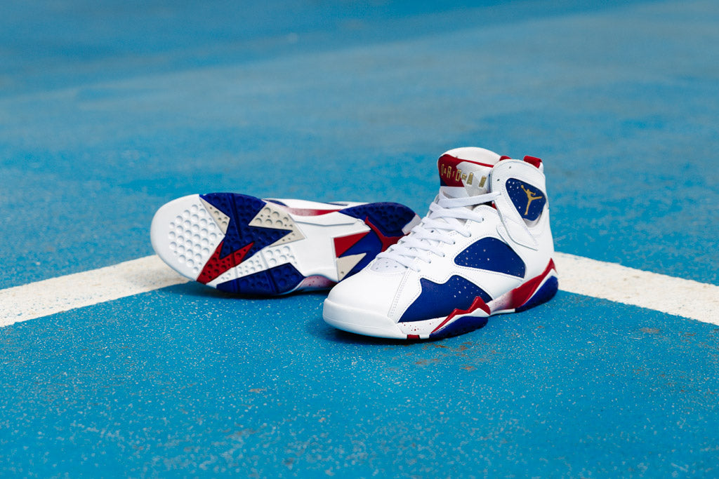 Tinker Alternative Air Jordan 7 available with Soleheaven