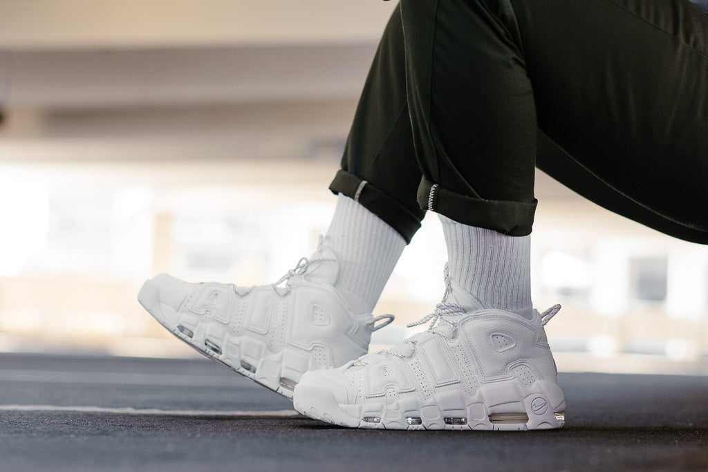 Nike Air More Uptempo '96 921948-100 in White / White / White available at Soleheaven