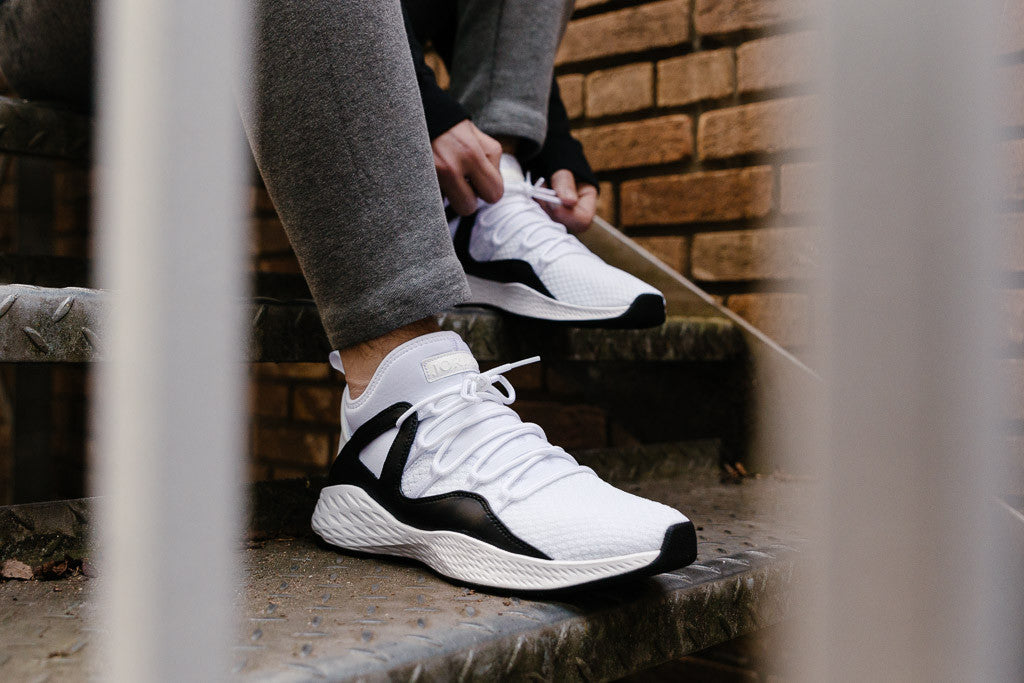 Air Jordan Formula 23 in White / White / Black available now to buy at Soleheaven