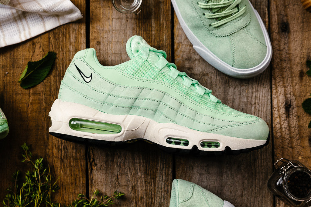 Nike Air Max 95 Fresh Mint available to buy now at Soleheaven