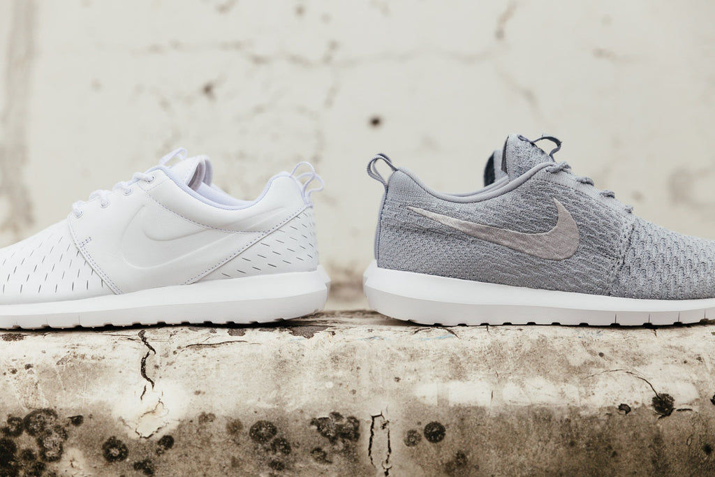 Comparison of the Nike Roshe LSR and the Nike Roshe NM Flyknit