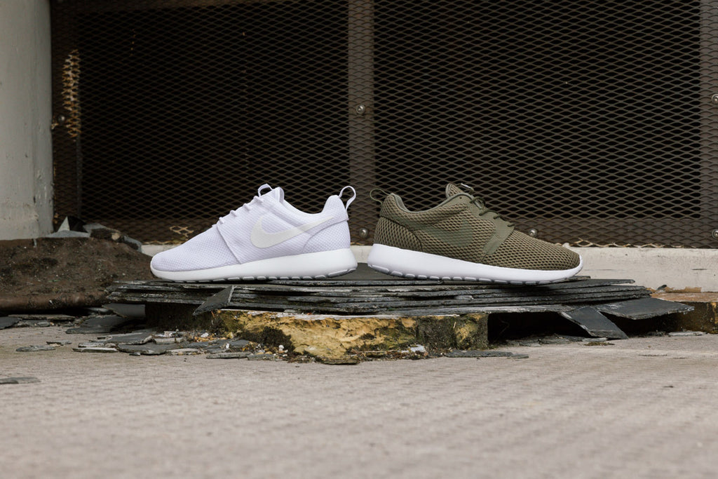 Comparison of the Nike Roshe Run One and the Nike Roshe Run BR