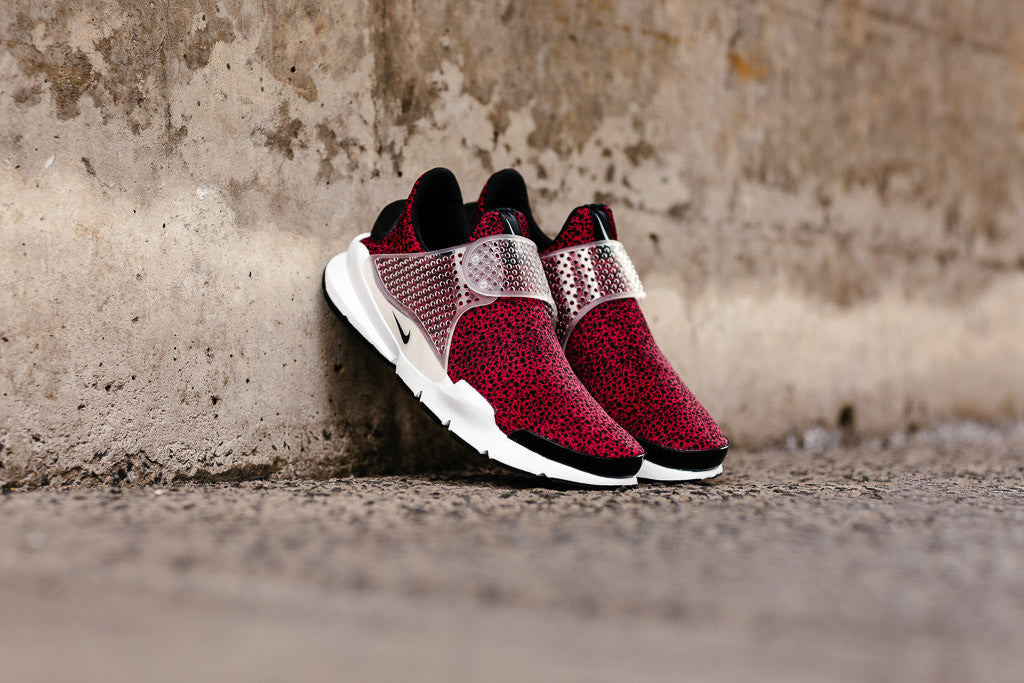 Nike Sock Dart QS in Gym Red / Black / White available to buy at Soleheaven
